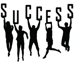 success BW