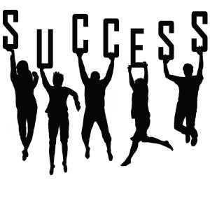 success BW